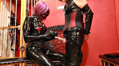 Boots, Electric, Leather, Boot, Heels, Femdom handjob