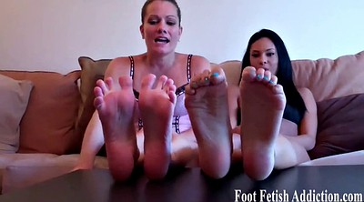 Foot worship, Slaves