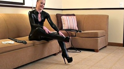 Boots, Gloves, Catsuit