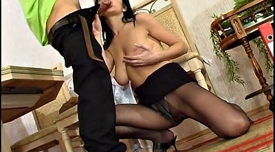 Russian mature, Pantyhoses
