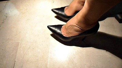 Nylon, Nylon feet, Nylons feet, Shoes, Feet nylon, Office nylon