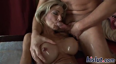 Big granny, Mature facial