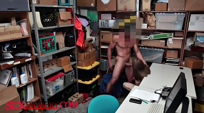 Shoplifter, Small cock, West, Stealing, Uniforms, Alina west