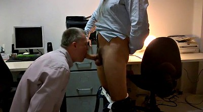 Big cock, Office gay