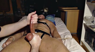 Milking, Edging, Edge, Bondage handjob