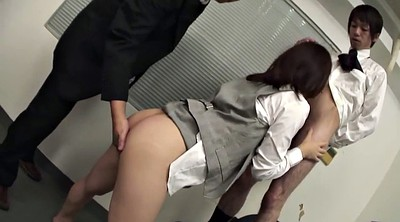 Japanese office, Japanese tits, People