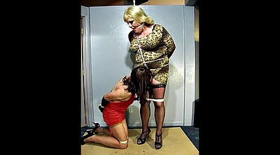 Crossdresser, Crossdressing, Crossdresser bondage, Together, Crossdressers