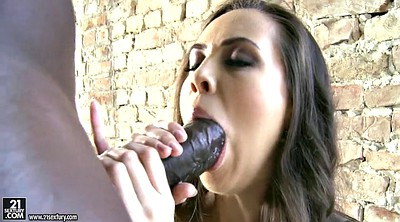Huge black cocks, In mouth