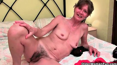 Granny solo, Hairy solo, Hairy mature