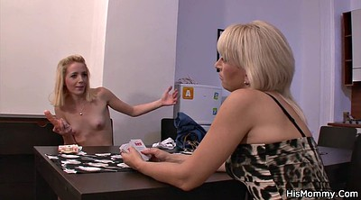 Old, Old and young lesbian, Lesbian seduced, Granny dildo