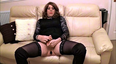 Alison, Crossdresser, Boot