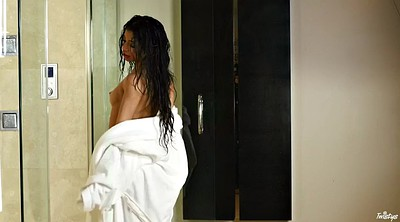 Veronica, Fit, Veronica rodriguez, Bathroom masturbation