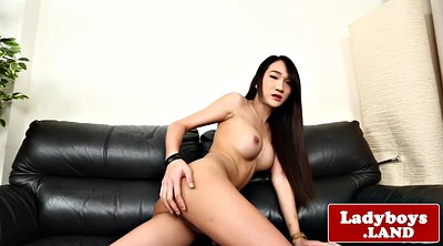 Ladyboy solo, Asian big cock, Solo shemale