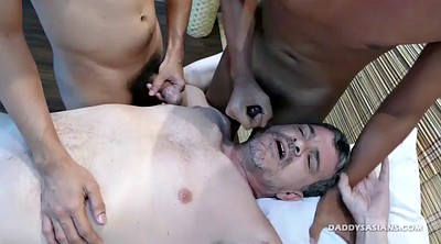 Asian massage, Spitting, Gay boy, Daddy gay, Asian daddy