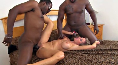 Mature creampie, Wife threesome, Plumber, Interracial wife