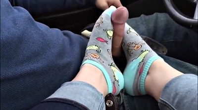 Socks, Sock, Foot job, Feet job, Sock job