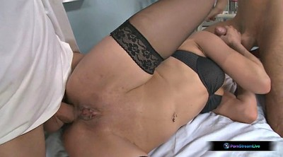 Medical, Double anal, Emma