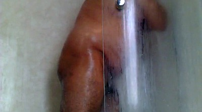 Shower, Hairy solo, Hairy masturbation, Bbw granny solo