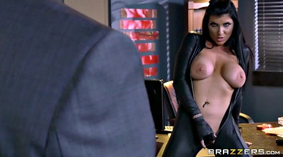 Boss, Romi rain, Leather, Pierced, Assassin