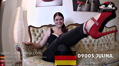 High heels, German bdsm