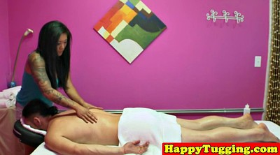 In front of, Asian massage, Tug
