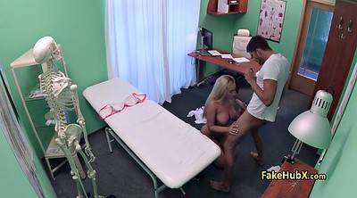 Office, Hospital, Hidden massage, Voyeur massage, Hidden office, Doctor fuck