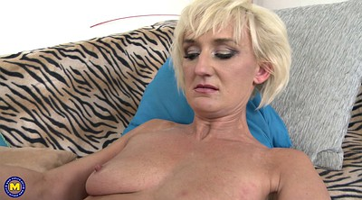 Old and young, Hard mom, Mom hard, Young mom, Stocking mom, Stocking milf