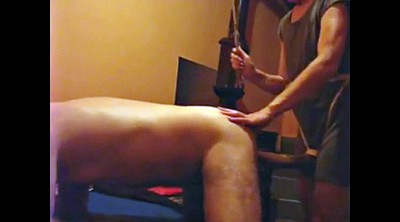 Caning, Home, Amateur strapon