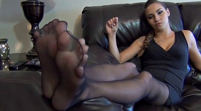 Nylon feet, Foot sole