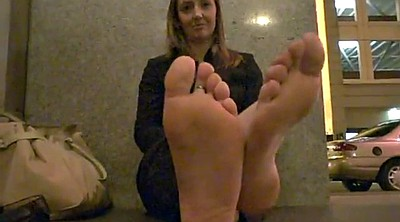 Stinky, Mature feet