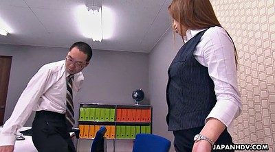Boss, Japanese office, Asian teen, Japanese lady