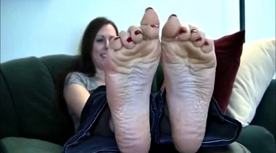 Milf foot, Creamy