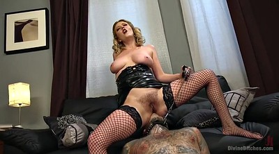 Hairy, Facesitting, Fishnet, Mistress femdom, Handjob femdom, Hairy facesitting