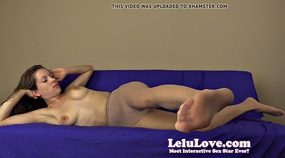 Pantyhose orgasm, Pantyhose foot, Ruined