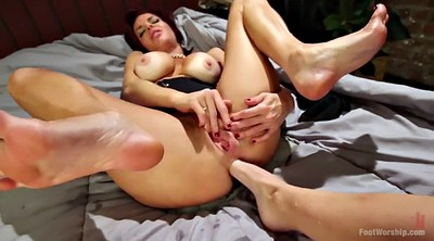 Mature feet, Foot fist, Big lesbian, Veronica, Fisting mature
