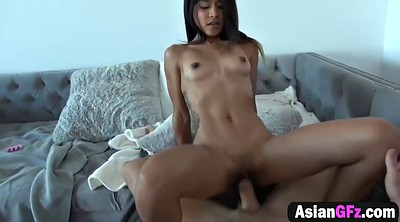 Bang, Long, Big tits asian, Petite asian