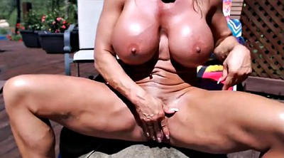 Muscle woman, Mature woman