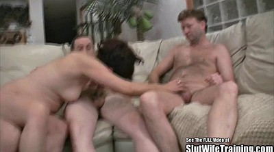 Wife gangbang, Wife threesome