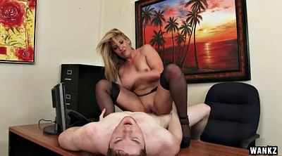 Office milf, Milf seduce