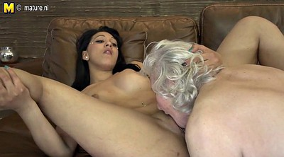 Hairy granny, Hairy young, Hairy lesbians