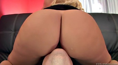 Big ass, Boss, Ass licking, Handjobs, Blonde mature, Ass job
