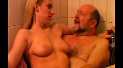 Grandfather, Old shower, Mature shower, Mature hardcore, Cut