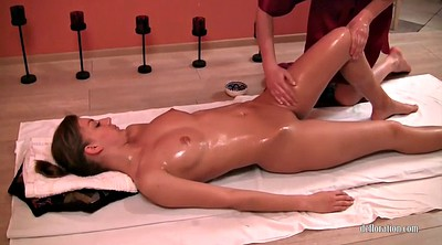Close up, Oil massage, Lesbians
