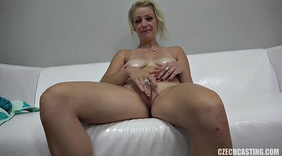 Tits, Mature casting, First casting, Casting mature