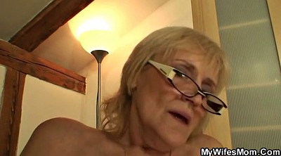 Taboo, Old granny, Mother in law, Skinny mature