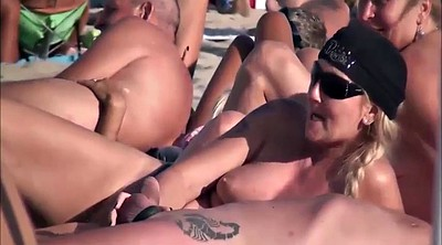 Catch, Wifes, Catching, Beach masturbation, Beach blowjob
