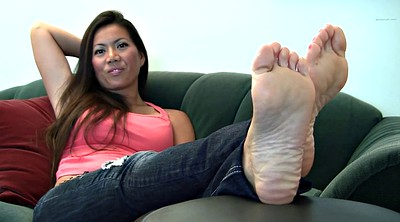 Asian foot, Fetish