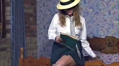 Schoolgirl, Vintage blowjob, Old daddy