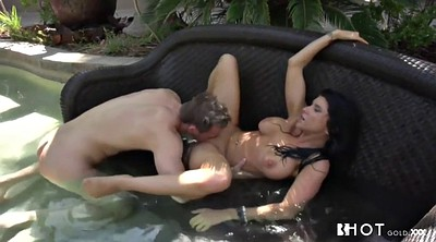 Romi rain, Water, Big tits creampie, Water sex, Sex milf