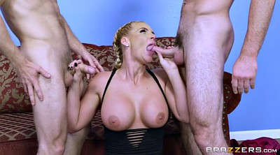 Sucking dick, Gloves, Glove, Blond big tits, Time, Phoenix marie